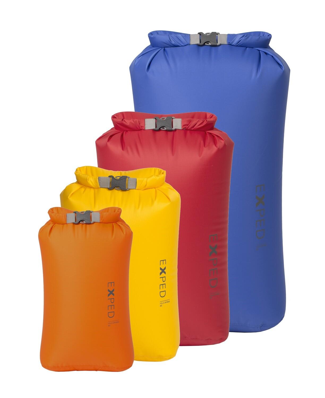 Exped Fold Drybag 4pk