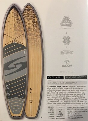 SurfTech Catalyst Tuflite V-Tech 11'2 Bark