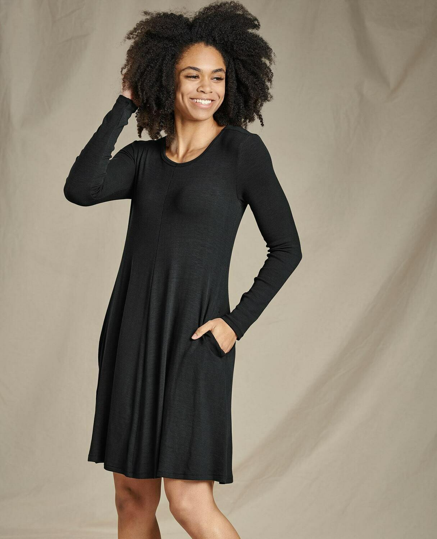 TC Daisy Rib SL Dress W