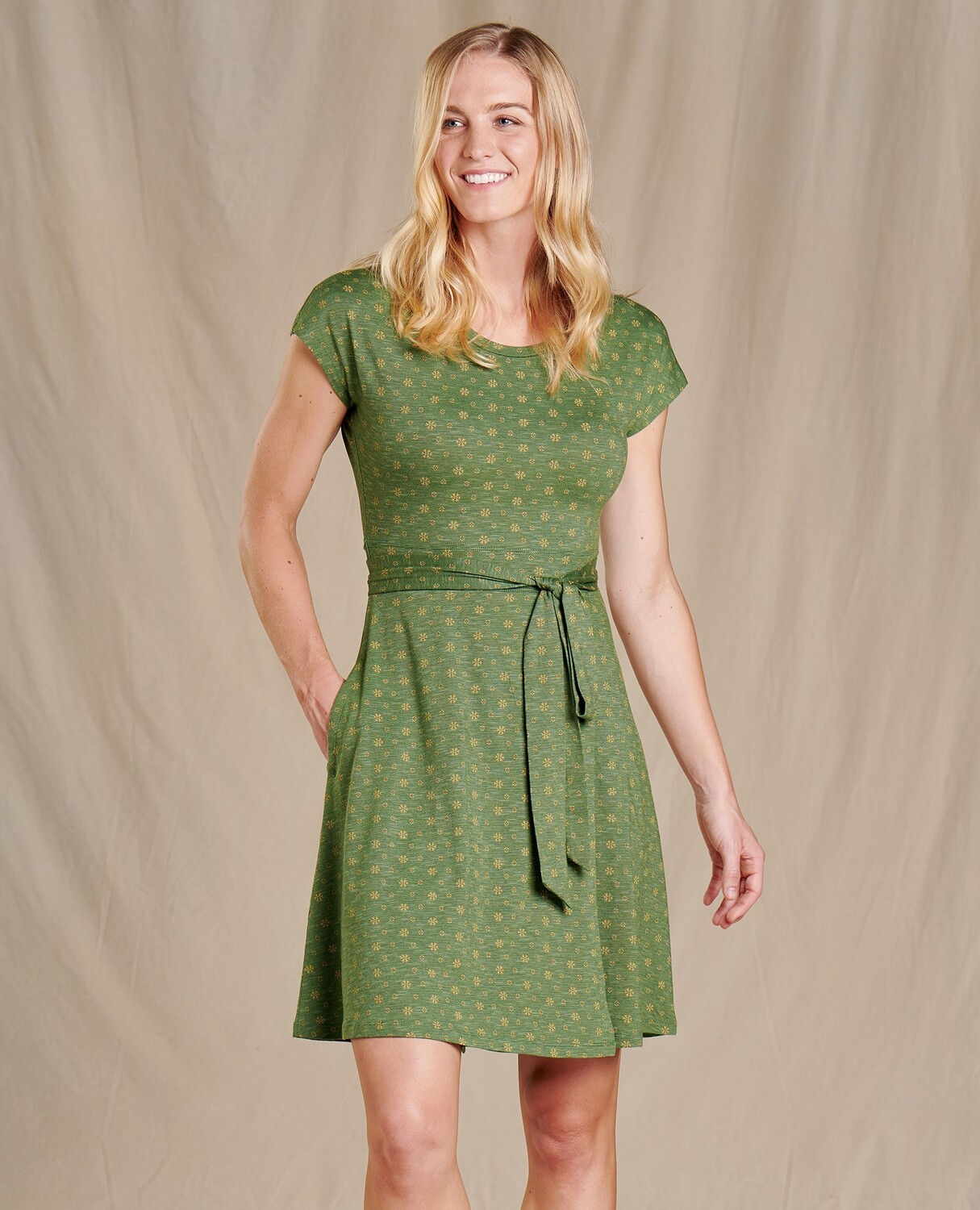 Toad and Co. Cue Wrap SS Dress