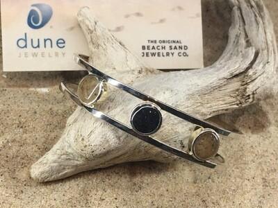 Dune Jewelry Triple Sandglobe Bracelet