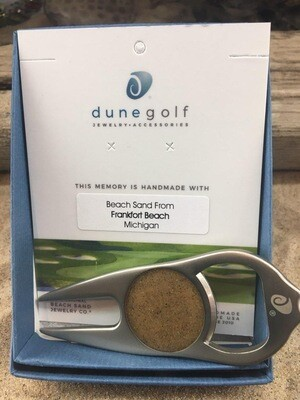 Dune Jewelry  Golf Divot-Repair tool