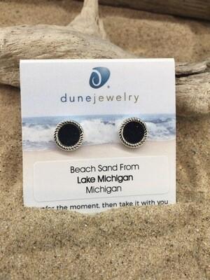 Dune Jewelry  HampRope Stud Earrings