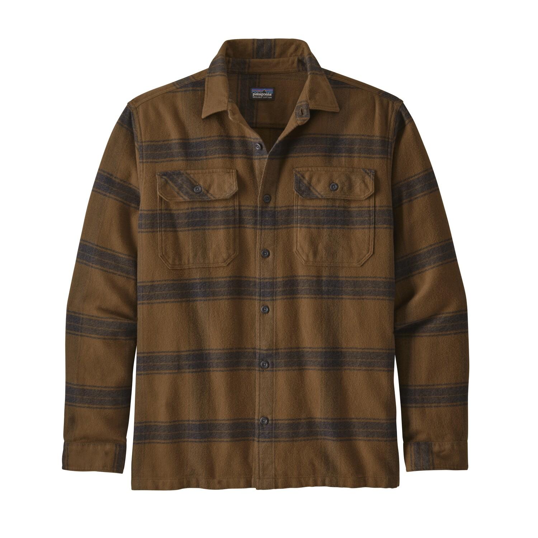 Patagonia Long Sleeve Fjord Flannel Shirt M