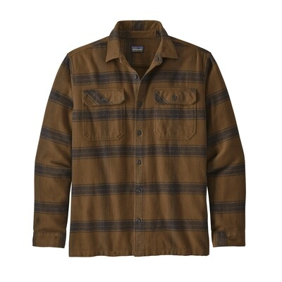 Patagonia Long Sleeve Fjord Flannel Shirt M