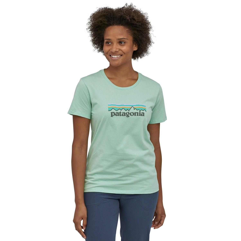 PATAGONIA Pastel P6 Logo Organic Crew T-shirt W