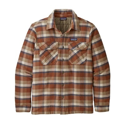 Patagonia Insulated Fjord Flannel Jacket M