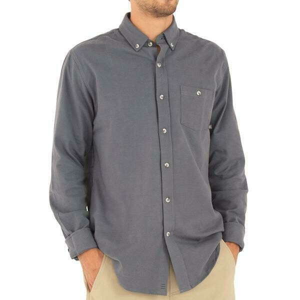 Free Fly Bamboo Flannel ButtonUp M