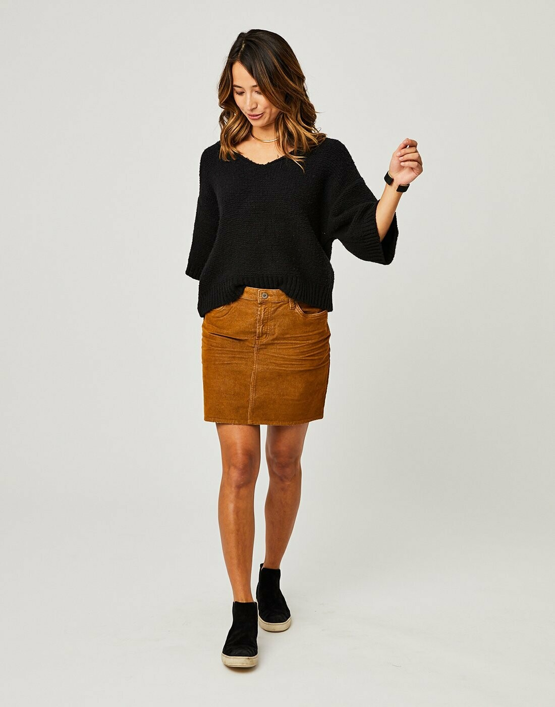 CARVE Carson Cord Skirt