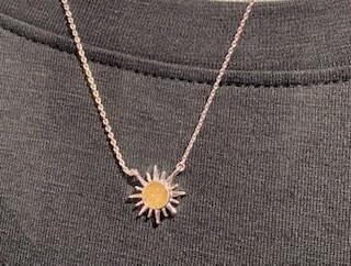 Dune Delicate Dune Duneburst Necklace