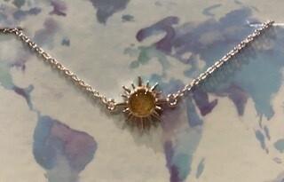 Dune Delicate Dune Sunburst Bracelet