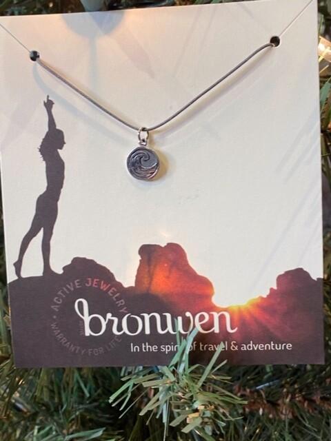 Bronwen Tiny Charm Wave Necklace