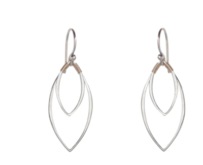 Bronwen Balance Earrings Silver