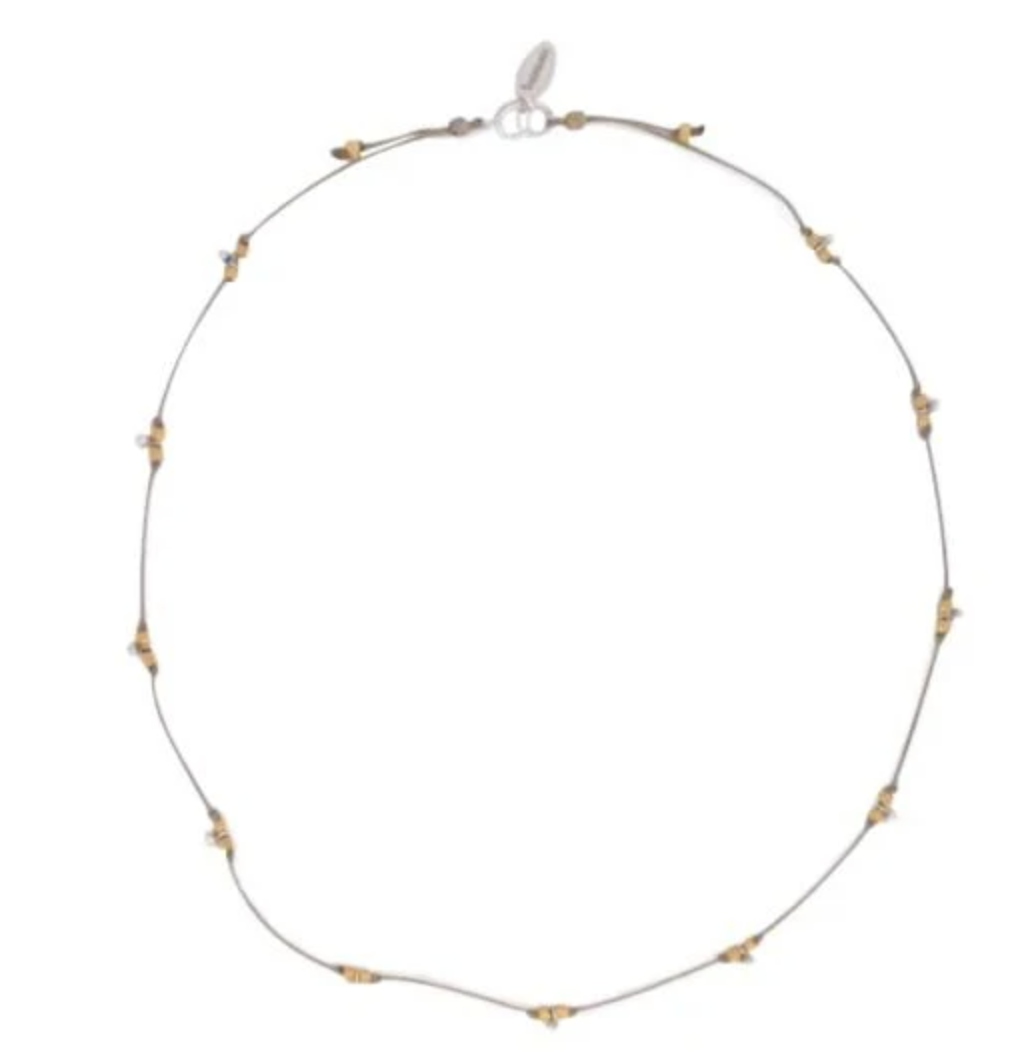 BR Sand Pebble Necklace