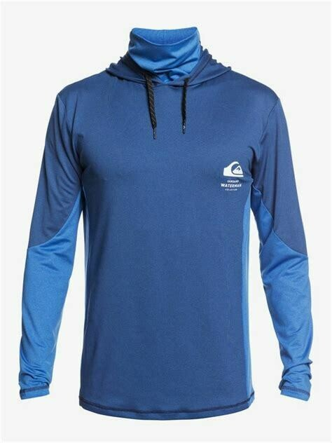 Quicksilver Angler Hoody Long Sleeve  Surf T-Shirt
