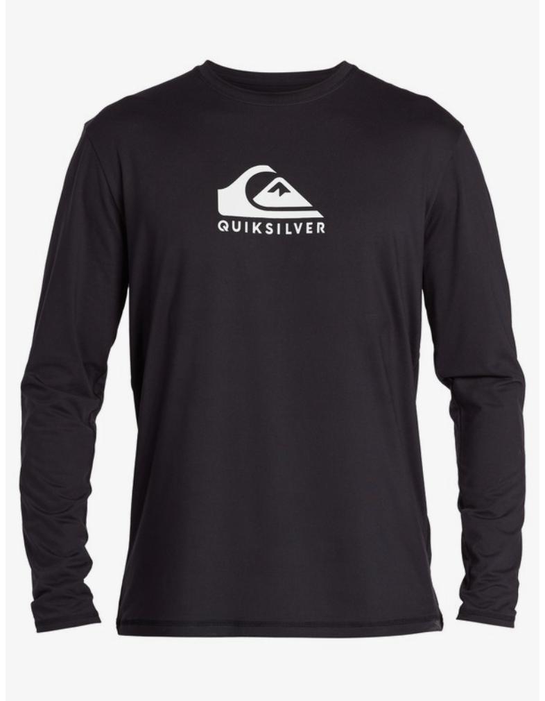 Quicksilver Solid Streak Long Sleeve Spray Shirt