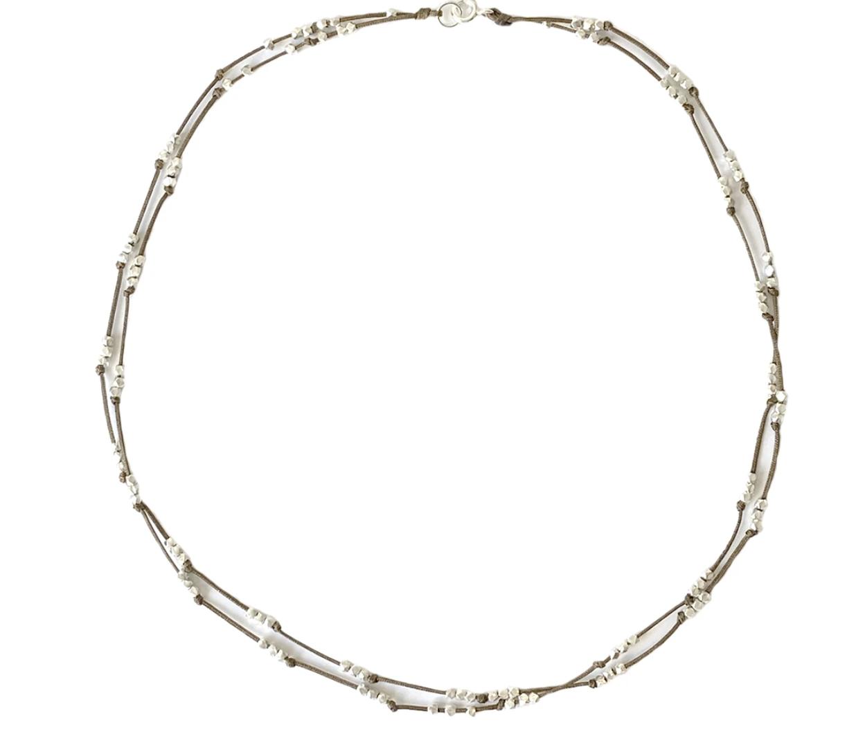 Bronwen Silverweave Necklace
