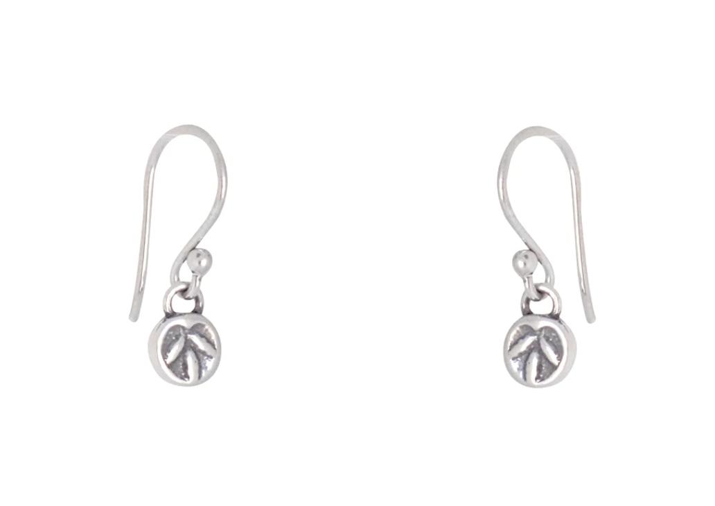 Bronwen Resilience Earrings Short Silver