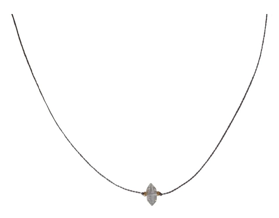 Bronwen Teeny Crystal Necklace
