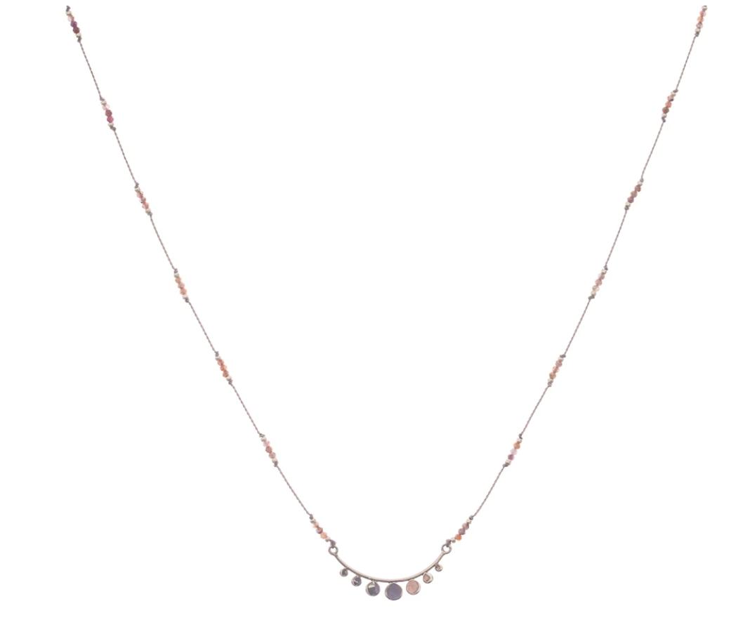 Bronwen Serenity Necklace Ruby