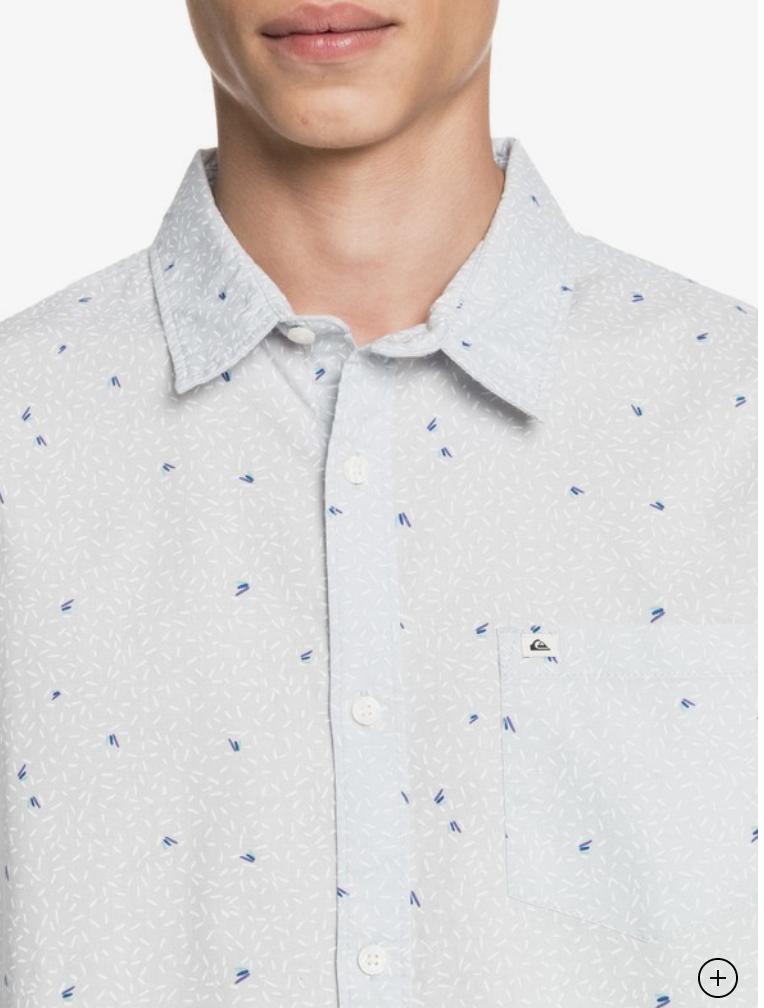 Quicksilver Spilled Rice Short Sleeve Shirt
