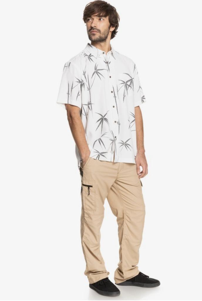 Quicksilver Waterman Bamboo Dreams Short Sleeve Shirt