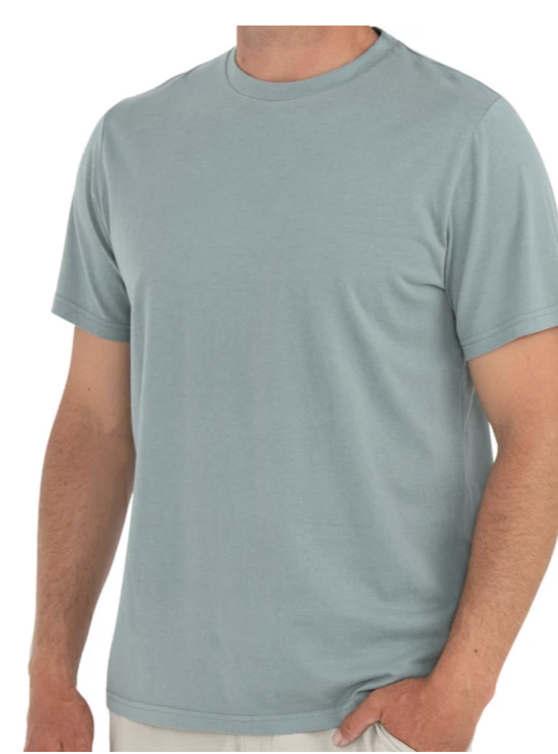 Free Fly Bamboo Heritage Tee Men's