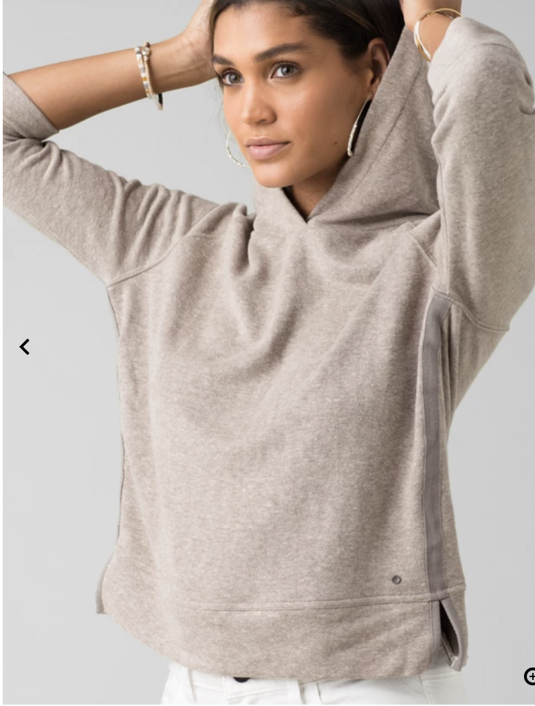 PrAna Cozy Up Summer Pullover
