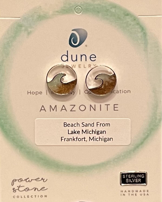 Dune Cresting Wave Stud Earring/Gradient