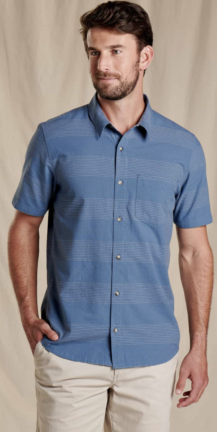 Toad & Co. Airlift Short Sleeve Shirt Slim Men's