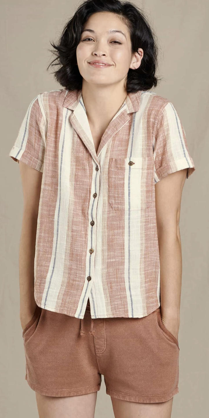 Toad & Co. Camp Cove Short Sleeve Shirt Women's