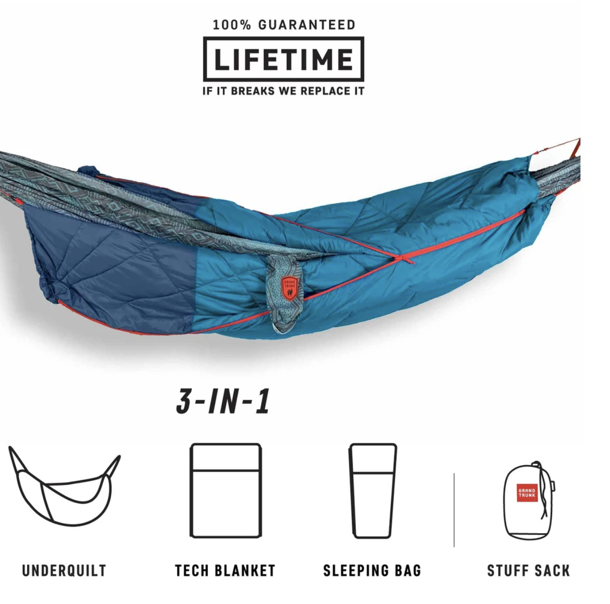 Grand Trunk 360 ThermaQuilt Blue