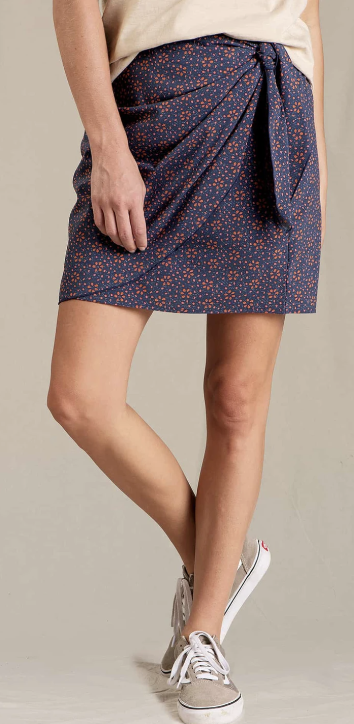 Toad & Co. Sunkissed Wrap Skirt