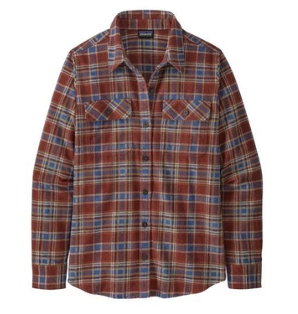 Patagonia Long Sleeve Organic Cotton Midweight FJord Flannel Women's