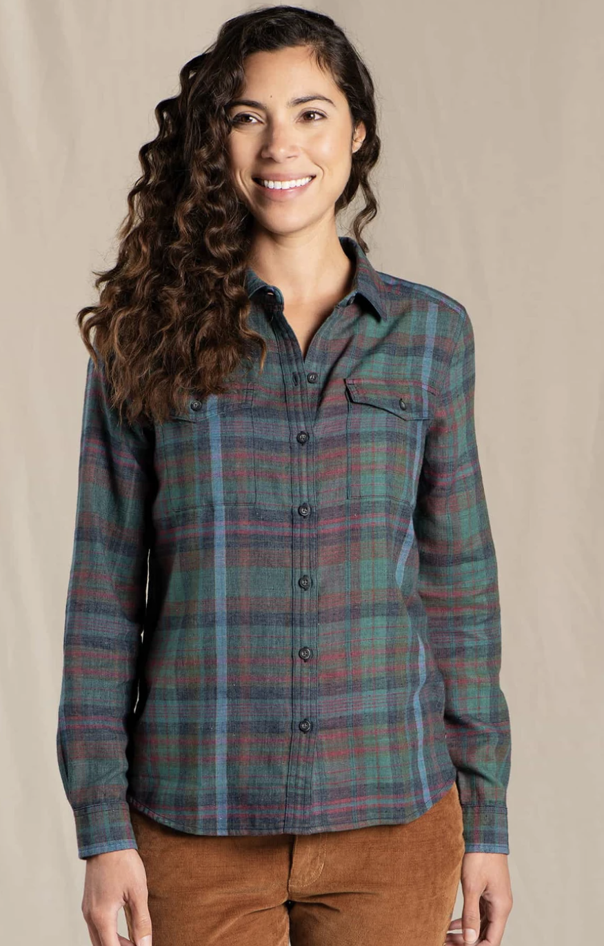 Toad & Co. Re-Form Flannel Shirt Women's