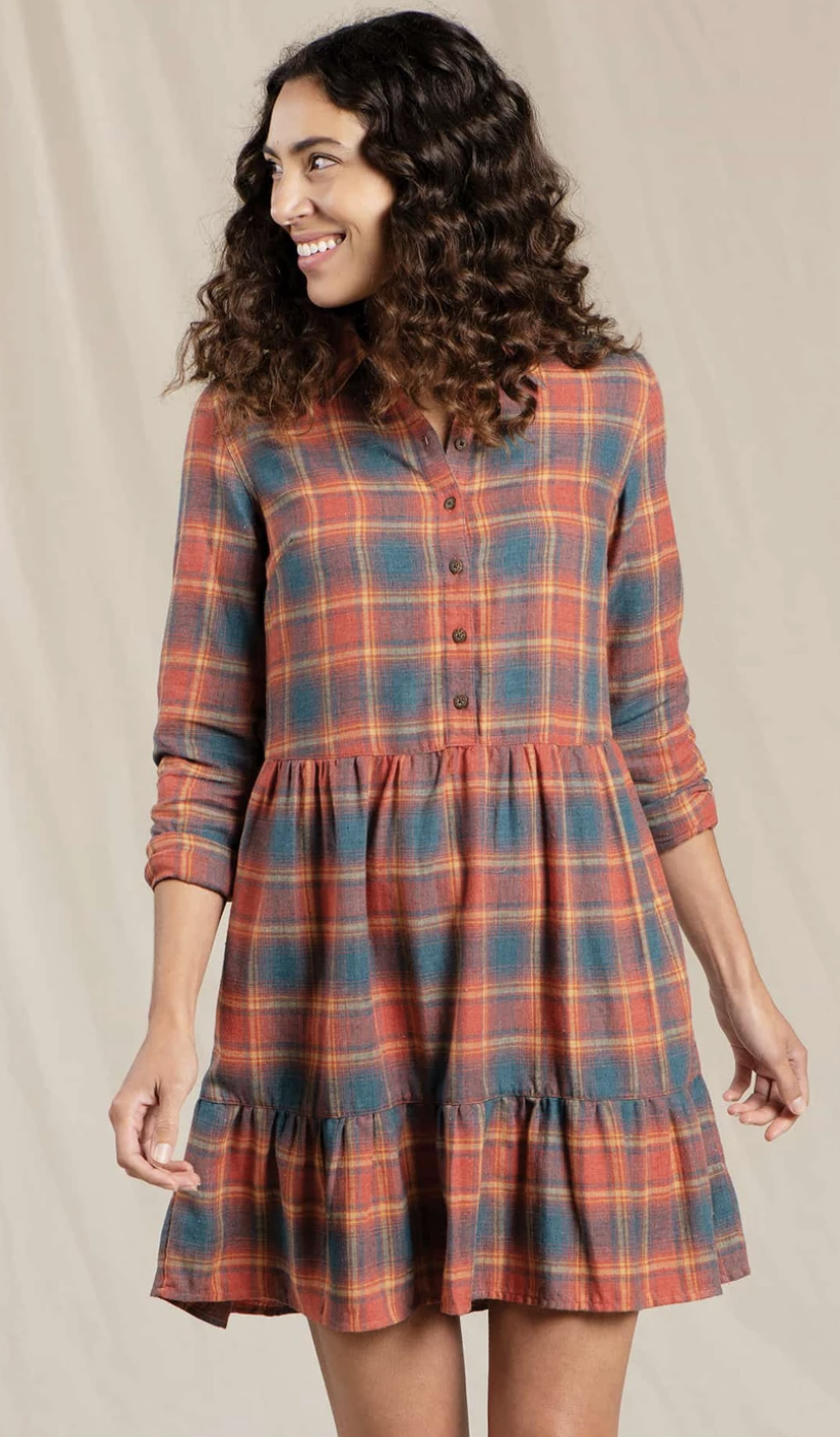 Toad & Co. Re-Form Tiered Dress