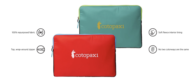 "Cotopaxi Trece Laptop sleeve 13"""