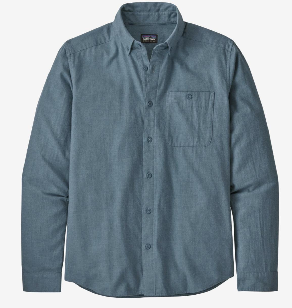 Patagonia Long Sleeve VJosa River Pima Cotton Shirt