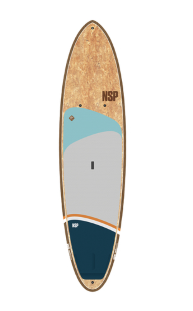 """NSP Coco Allrounder Sup 10'.0"""" Flax Natural"""