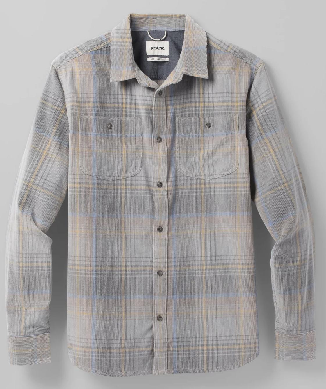 PrAna Dooley Cord Shirt Men's