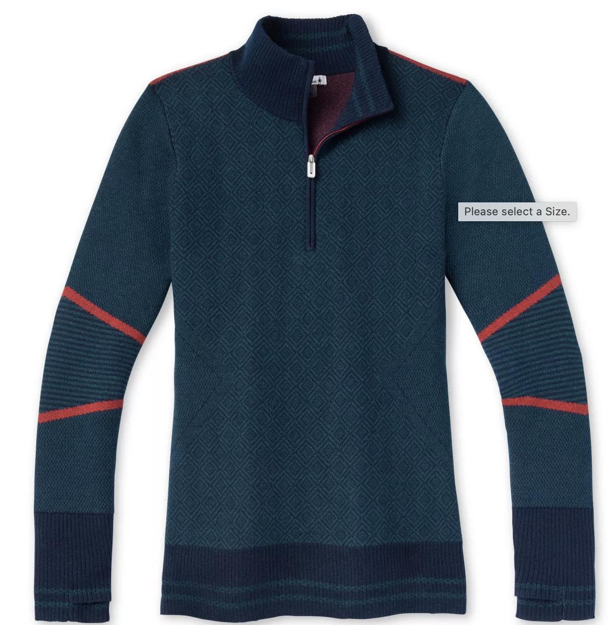Smartwool Dacono Half Zip Sweater Women's
