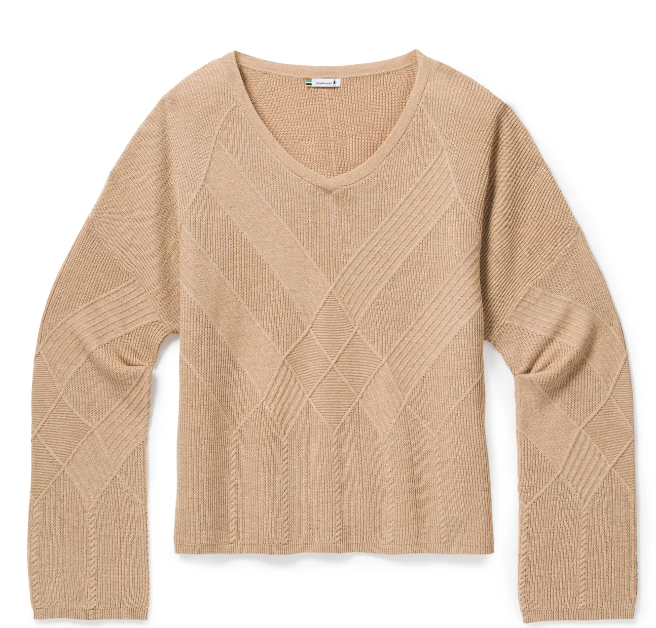 SmartWool Shadow Pine Cable crew Sweater
