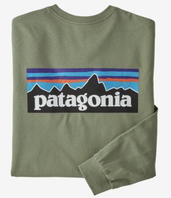 Patagonia  Long Sleeve P6 Logo Resp-T M
