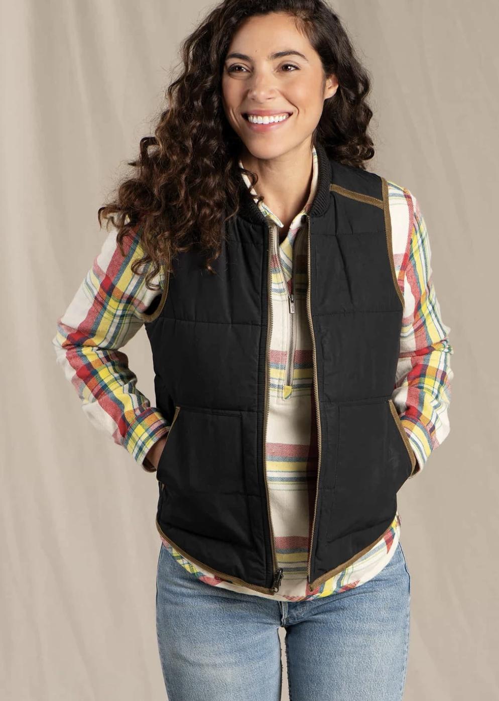 Toad & Co. Mcway Reversible Vest Women's