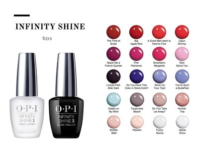 OPI INFINITY SHINE POLISH SET