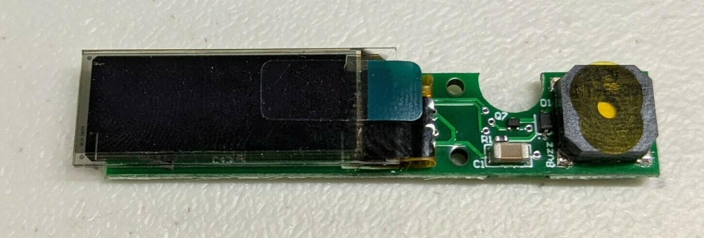 OLED-Buzzer for BatMon (v4)