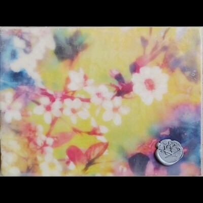 Encaustic Mixed Media- 6x8 Gallery Depth
