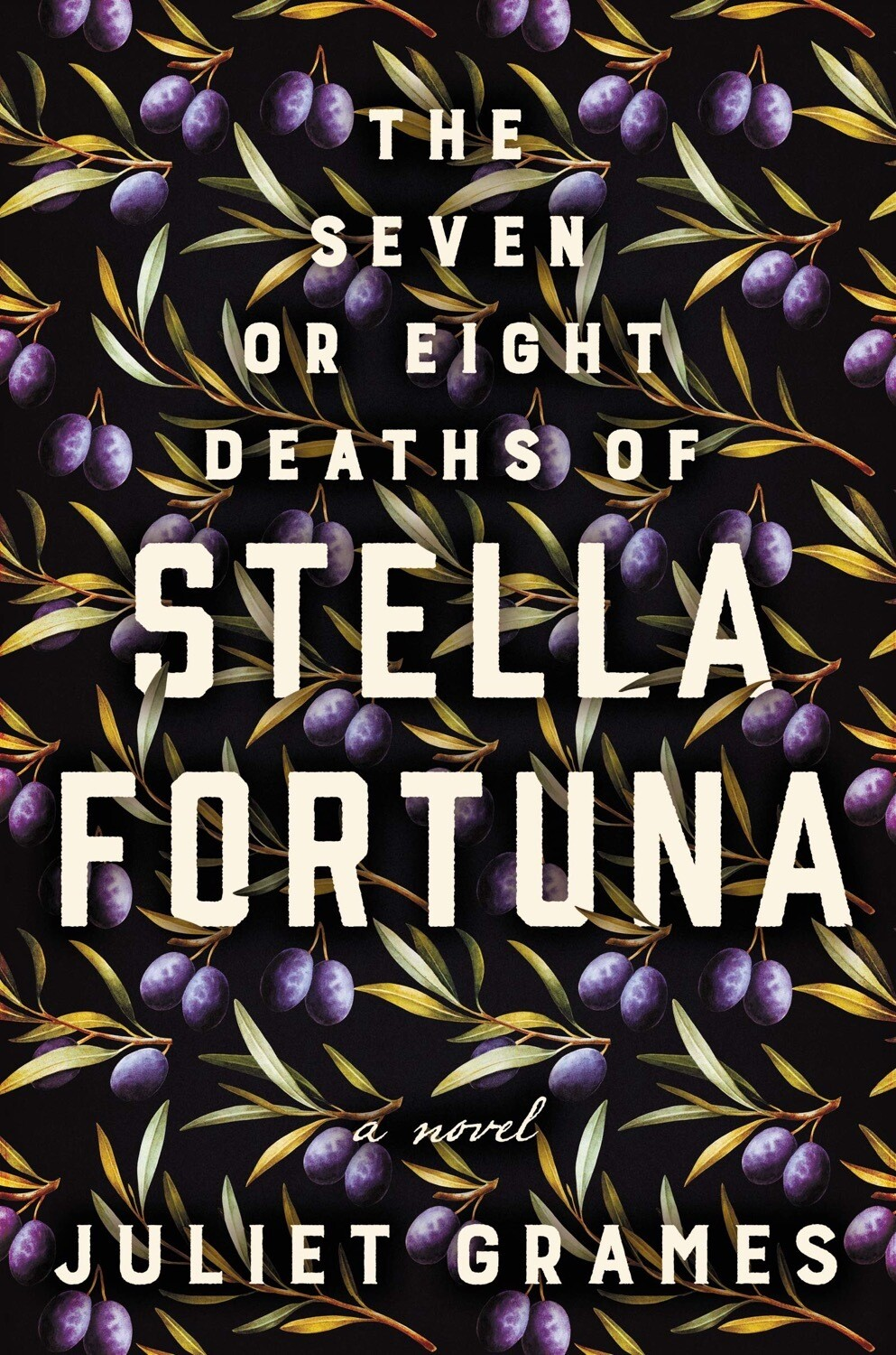 The Seven or Eight Deaths of Stella Fortuna NEW w/ SIGNED BOOKPLATE