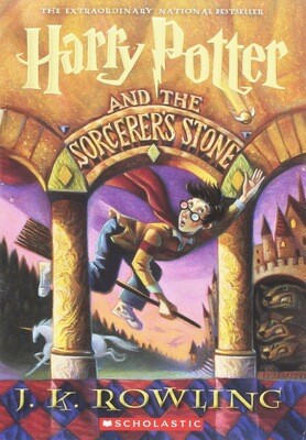 Harry Potter and the Sorcerer's Stone (First American edition, October 1998)