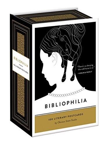 Bibliophilia 100 Literary Postcards NEW